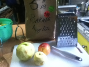 Yes, I bought the bargain bag of apples. It was a good idea as I got a good mix of flavors and textures. The blend of sweet and tart, firm and soft apples gave the mince a deep complexity.